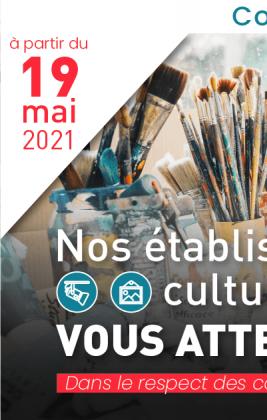 Réouverture du musée le 19 mai à 14h