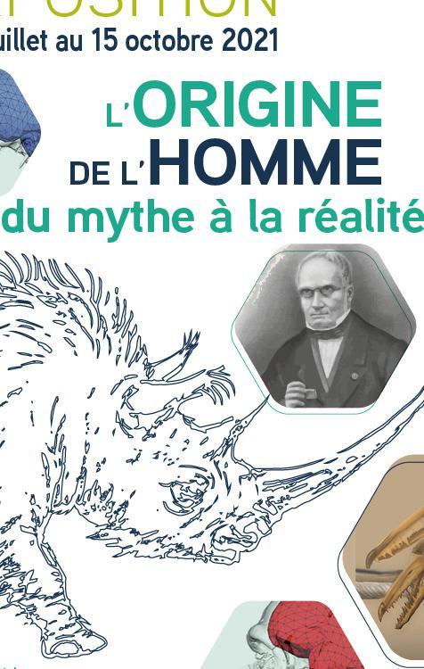 Exposition : L'origine de l'Homme - du mythe à la réalité